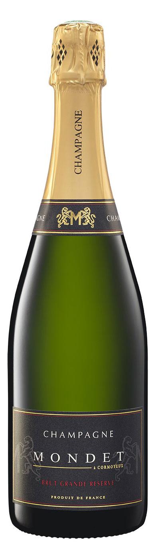 Champagne Mondet cuvée Brut Grande Réserve