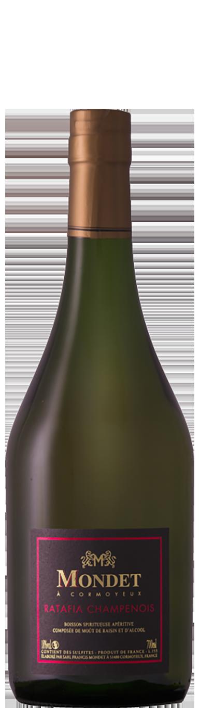 Champagne Mondet cuvée Ratafia Champenois