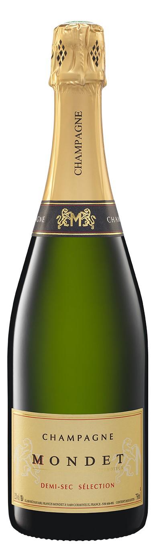 Demi-sec Champagne Mondet