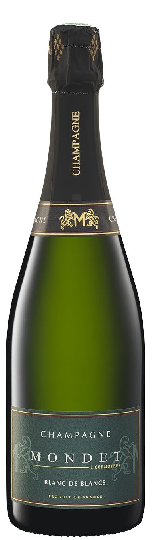 Champagne Mondet cuvée Blanc de Blancs