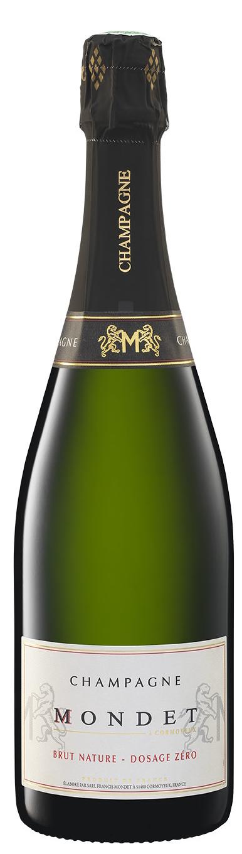 Champagne Mondet cuvée Brut Nature