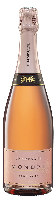 Champagne Mondet cuvée Brut Rosé