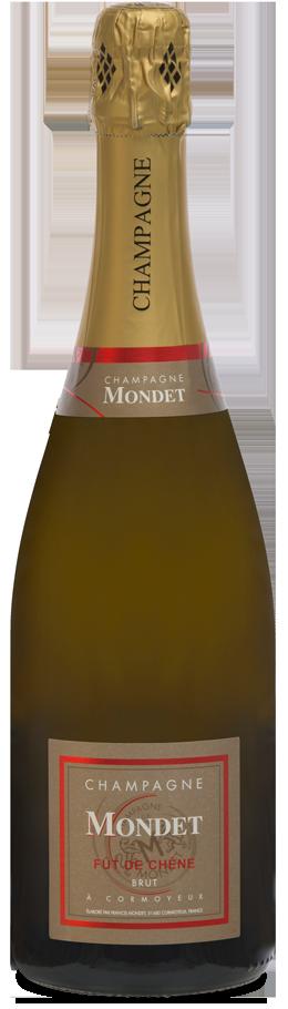 Brut fût de chêne Champagne Mondet