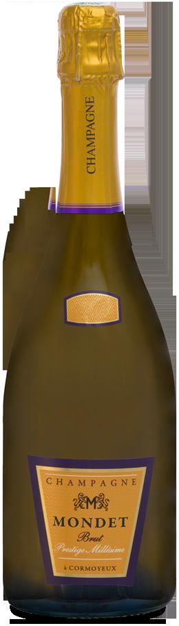 Champagne Mondet cuvée Prestige Millésimé