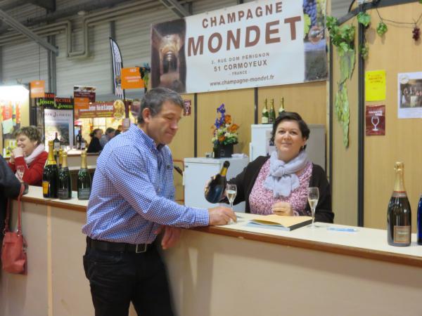 Champagne Mondet salon de NANTES